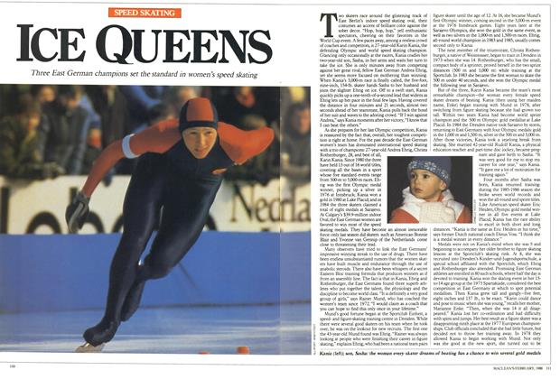 Article Preview: ICE QUEENS, February 1988 | Maclean's