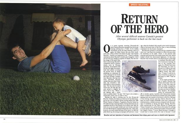 Article Preview: RETURN OF THE HERO, February 1988 | Maclean's