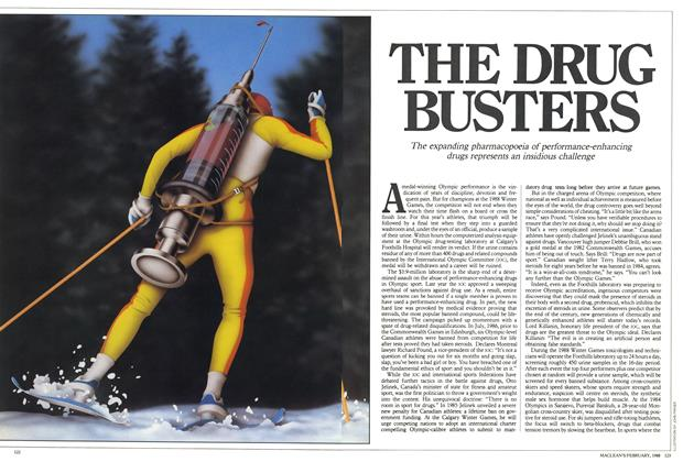 Article Preview: THE DRUG BUSTERS, February 1988 | Maclean's