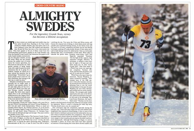 Article Preview: ALMIGHTY SWEDES, February 1988 | Maclean's