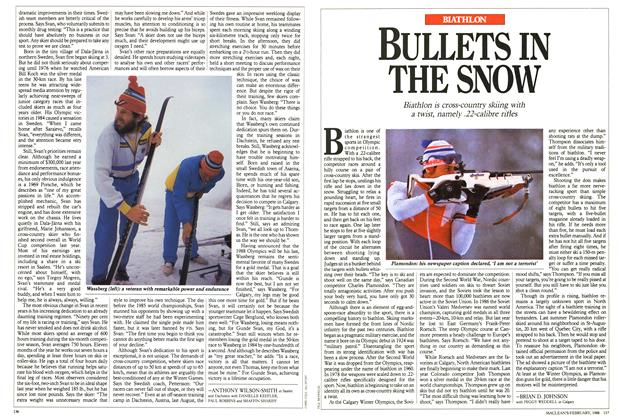 Article Preview: BULLETS IN THE SNOW, February 1988 | Maclean's