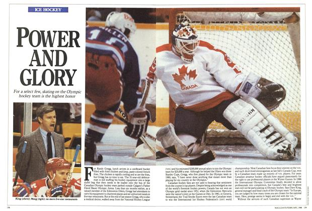Article Preview: POWER AND GLORY, February 1988 | Maclean's