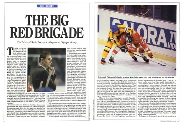 Article Preview: THE BIG RED BRIGADE, February 1988 | Maclean's