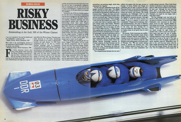 Article Preview: RISKY BUSINESS, February 1988 | Maclean's