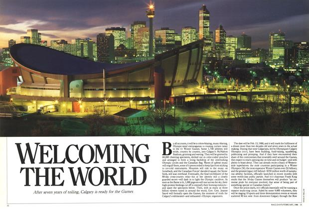 Article Preview: WELCOMING THE WORLD, February 1988 | Maclean's