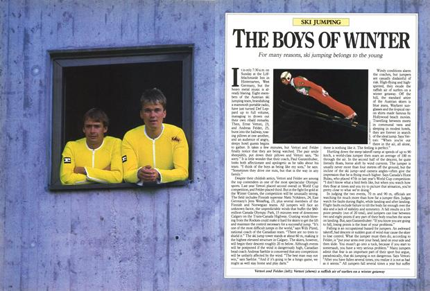 Article Preview: THE BOYS OF WINTER, February 1988 | Maclean's