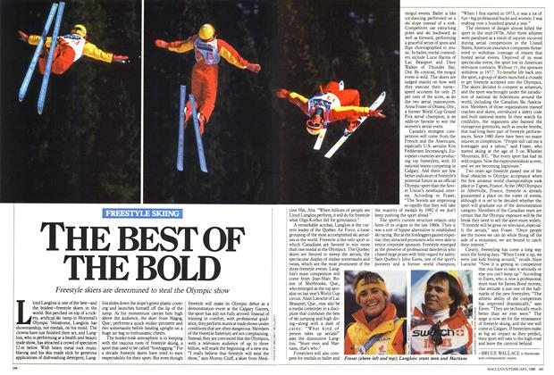 Article Preview: THE BEST OF THE BOLD, February 1988 | Maclean's