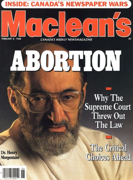 Issue: - February 1988 | Maclean's