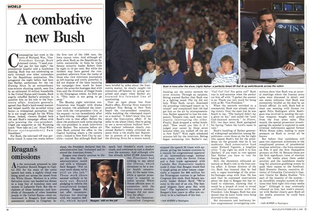 Article Preview: A combative new Bush, February 1988 | Maclean's