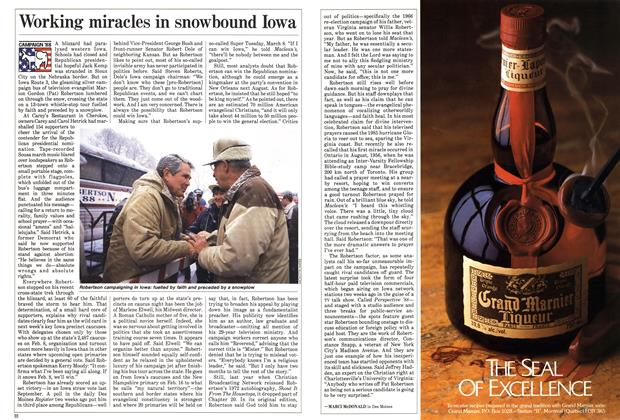 Article Preview: Working miracles in snowbound Iowa, February 1988 | Maclean's