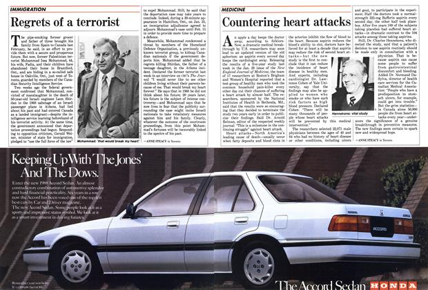 Article Preview: Countering heart attacks, February 1988 | Maclean's