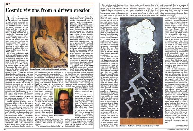 Article Preview: Cosmic visions from a driven creator, February 1988 | Maclean's