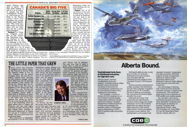 Article Preview: THE LITTLE PAPER THAT GREW, February 1988 | Maclean's