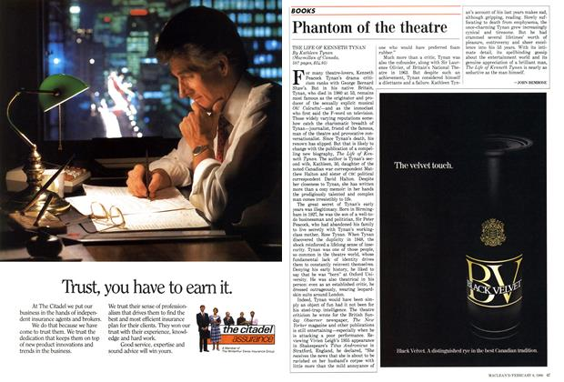 Article Preview: Phantom of the theatre, February 1988 | Maclean's