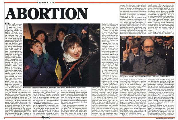 Article Preview: ABORTION, February 1988 | Maclean's