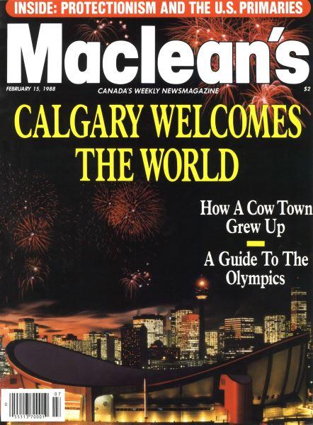 Issue: - February 1988 | Maclean's