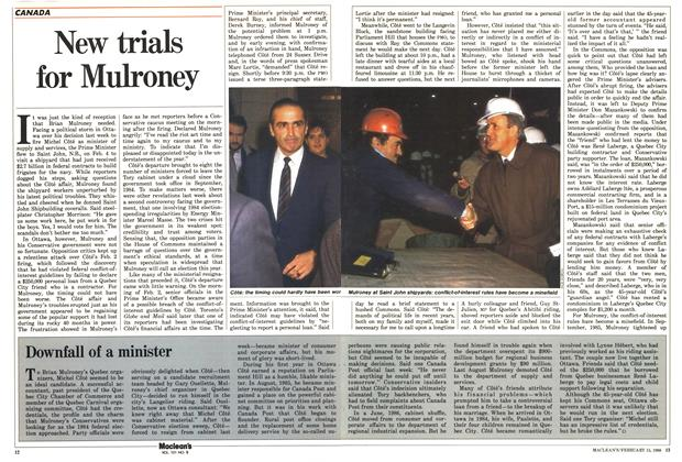 Article Preview: New trials for Mulroney, February 1988 | Maclean's