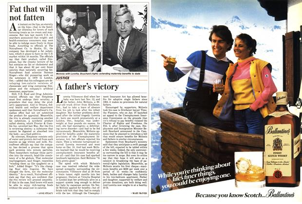 Article Preview: A father's victory, February 1988   Maclean's