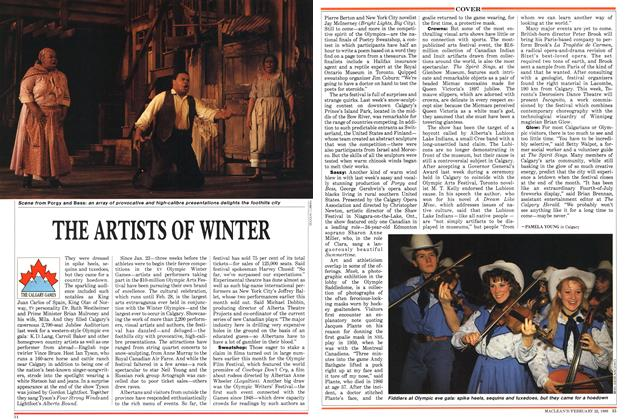 Article Preview: THE ARTISTS OF WINTER, February 1988 | Maclean's