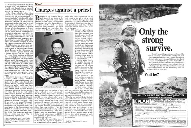 Article Preview: Charges against a priest, February 1988 | Maclean's