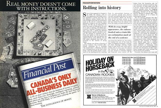 Article Preview: Rolling into history, February 1988 | Maclean's