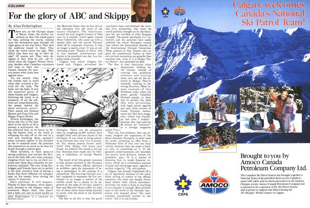 Article Preview: For the glory of ABC and Skippy, February 1988 | Maclean's