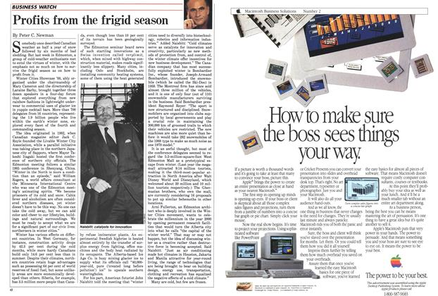Article Preview: Profits from the frigid season, February 1988 | Maclean's