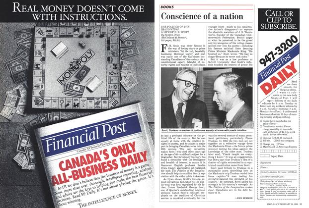 Article Preview: Conscience of a nation, February 1988 | Maclean's
