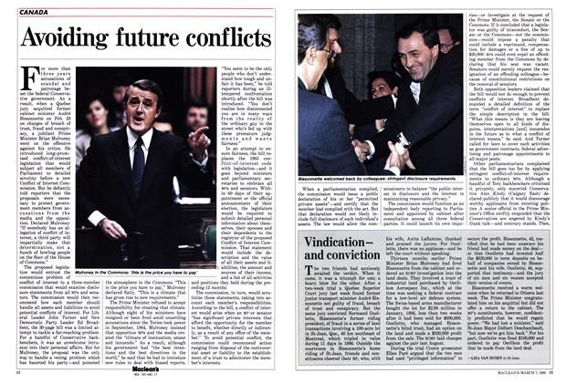 Article Preview: Vindicationand conviction, March 1988 | Maclean's
