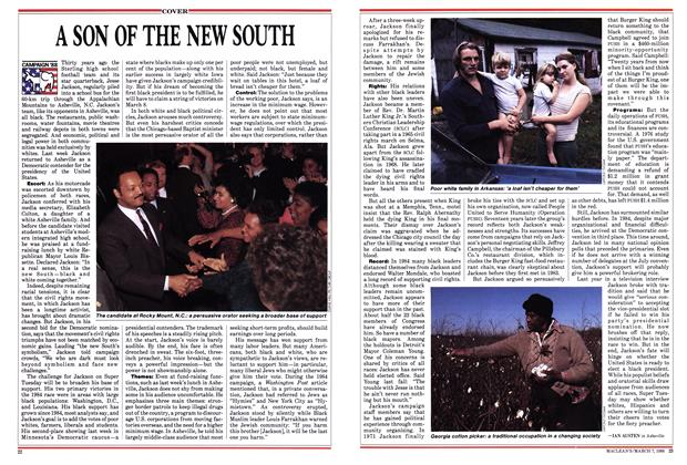 Article Preview: A SON OF THE NEW SOUTH, March 1988 | Maclean's