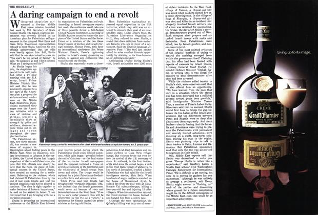 Article Preview: A daring campaign to end a revolt, March 1988 | Maclean's