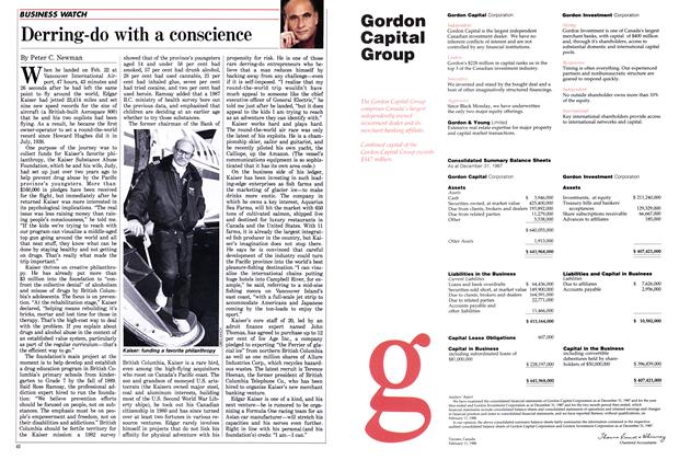 Article Preview: Derring-do with a conscience, March 1988 | Maclean's