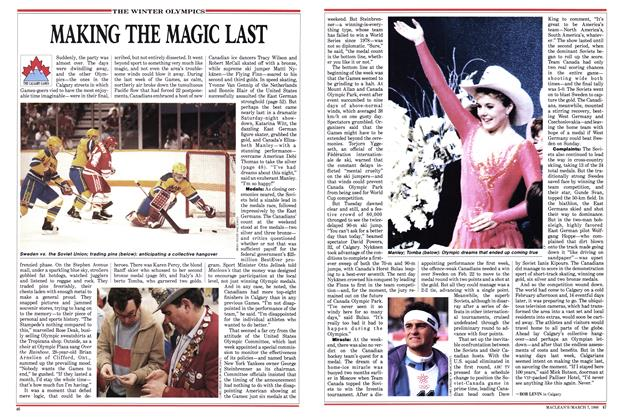 Article Preview: MAKING THE MAGIC LAST, March 1988 | Maclean's
