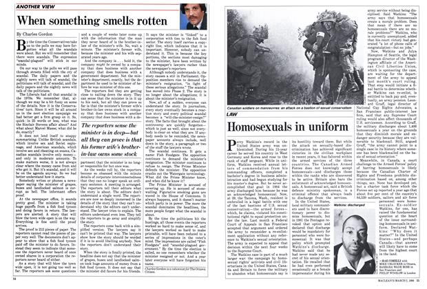 Article Preview: When something smells rotten, March 1988 | Maclean's