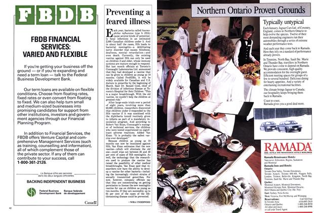 Article Preview: Preventing a feared illness, March 1988 | Maclean's