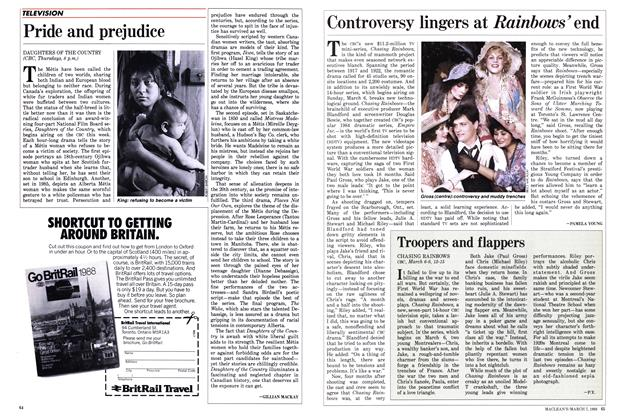 Article Preview: Controversy lingers at Rainbows end, March 1988 | Maclean's