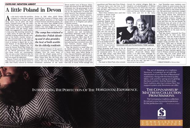 Article Preview: A little Poland in Devon, March 1988 | Maclean's