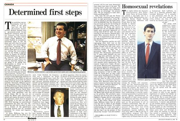 Article Preview: Homosexual revelations, March 1988 | Maclean's