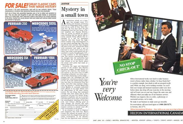 Article Preview: Mystery in a small town, March 1988 | Maclean's