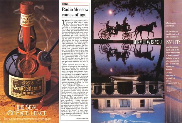 Article Preview: Radio Moscow comes of age, March 1988 | Maclean's