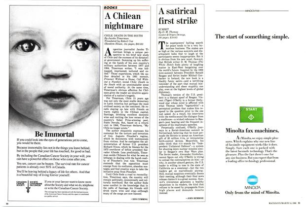 Article Preview: A Chilean nightmare, March 1988 | Maclean's