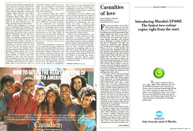 Article Preview: Casualties of love, March 1988 | Maclean's