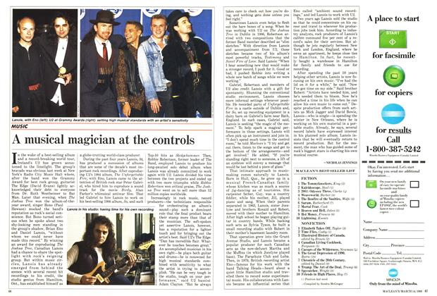 Article Preview: A musical magician at the controls, March 1988 | Maclean's