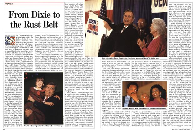 Article Preview: From Dixie to the Rust Belt, March 1988 | Maclean's