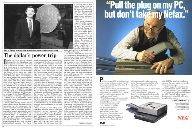 Article Preview: The dollar's power trip, March 1988 | Maclean's