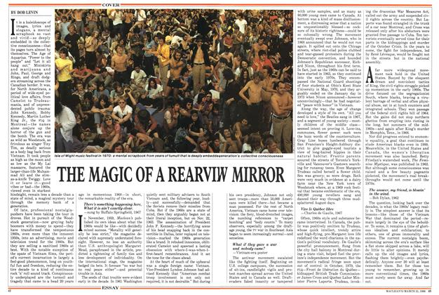 Article Preview: THE MAGIC OF A REARVIW MIRROR, March 1988 | Maclean's