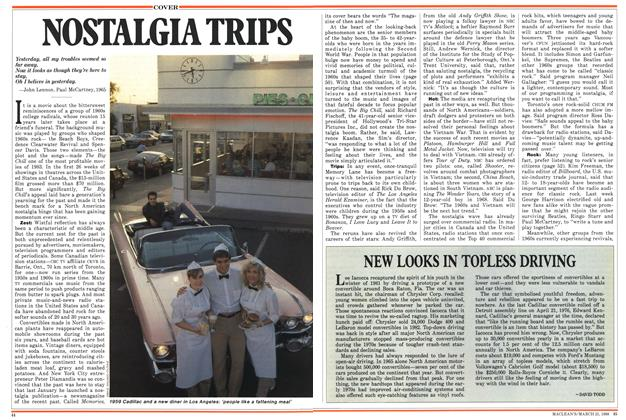 Article Preview: NOSTALGIA TRIPS, March 1988 | Maclean's