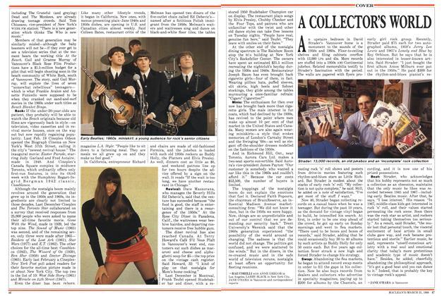 Article Preview: A COLLECTOR'S WORLD, March 1988 | Maclean's