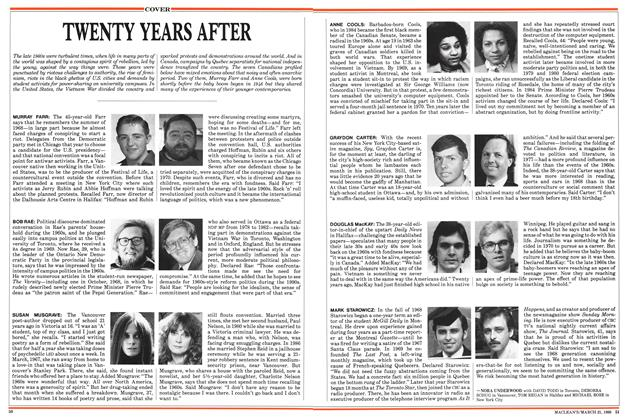 Article Preview: TWENTY YEARS AFTER, March 1988 | Maclean's