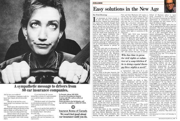 Article Preview: Easy solutions in the New Age, March 1988 | Maclean's